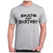 Thrasher T-shirt: Skate and Destroy GR