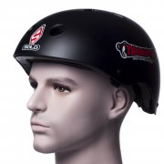 Thumper Helmet: Helmet ipod/mp3 BK