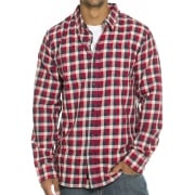 Vans Shirt: MN Alameda II Dress Blues RD/NV/BG