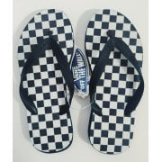 Vans Slippers: Keel Checkerboards BK/WH