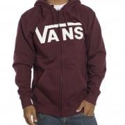 Vans Sweatshirt: MN Classic Zip Port Royal GT