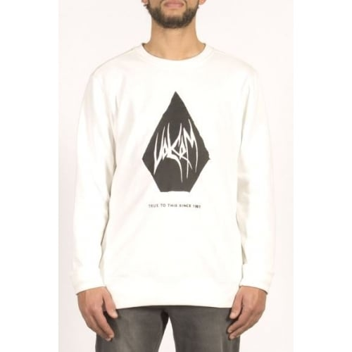 Volcom Sweatshirt: Supply Stone Crew WH