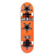 Volledige Skateboards Zero: American Zero Ransom Note Orange 8.0