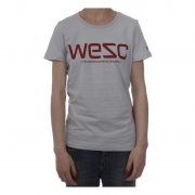 Wesc Girl T-Shirt. Color: grey.