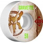 Wielen Bones: Gravette Vintage Streettech V2 (51 mm)