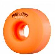 Wielen Mini-Logo Skateboards: C-Cut Orange (53 mm / 101A)