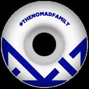 Wielen Nomad: Crown Logo Navy (53 mm)
