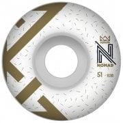 Wielen Nomad: Logo White (51 mm)