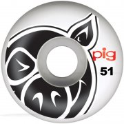 Wielen Pig: Head Natural (51 mm)