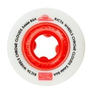 Wielen Ricta: Chrome Clouds Red (54mm) 86A