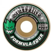 Wielen Spitfire: F4 101 Conical Green Print (52 mm)