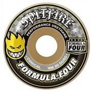 Wielen Spitfire: F4 99D Conical Yellow Print (54 mm)