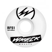 Wreck  Wielen Wreck: Square Cut White (51 mm)