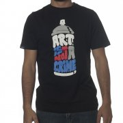 Wrung T-Shirt: Art Crime BK