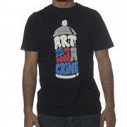 Wrung T-Shirt: Art Crime BK