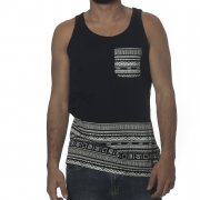 Wrung Tank-Top: Natives BK